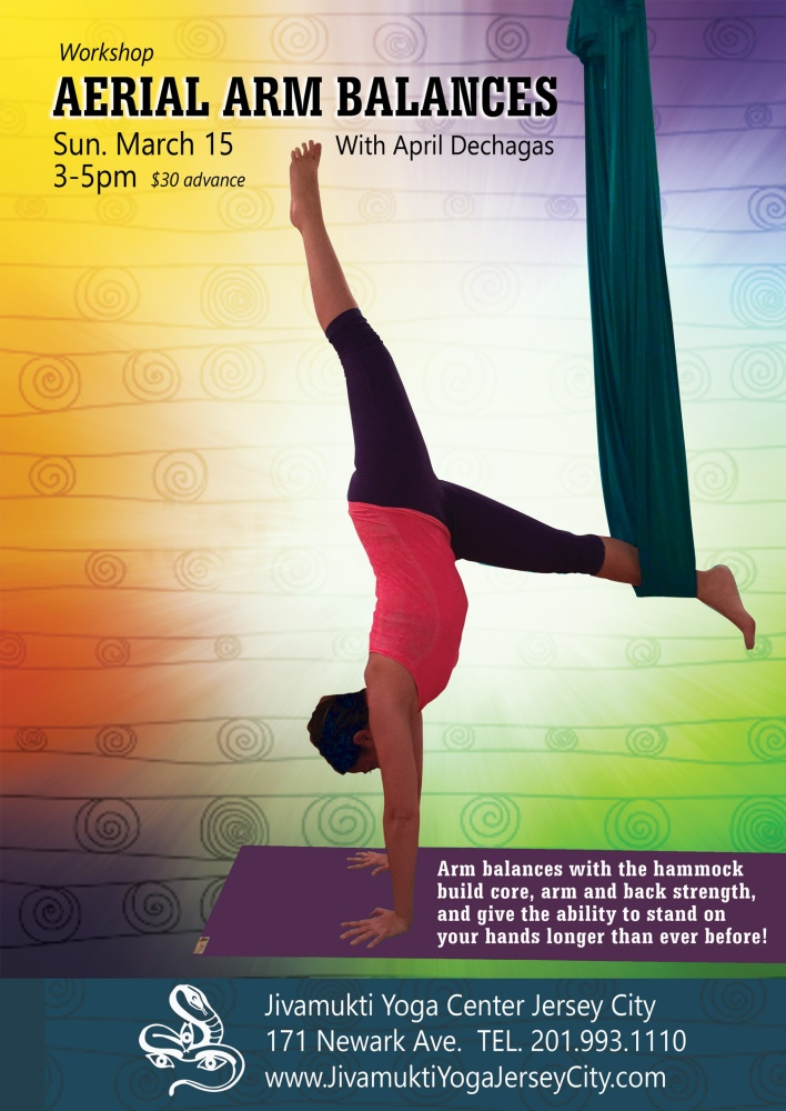 Aerial Arm Balance Workshop in March!
